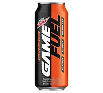 Mountain Dew Game Fuel Sparkling Juice Charged Orange Storm - 16 Fl. Oz.