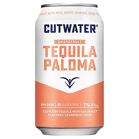 Cutwater Paloma Can 12oz - 12 Oz