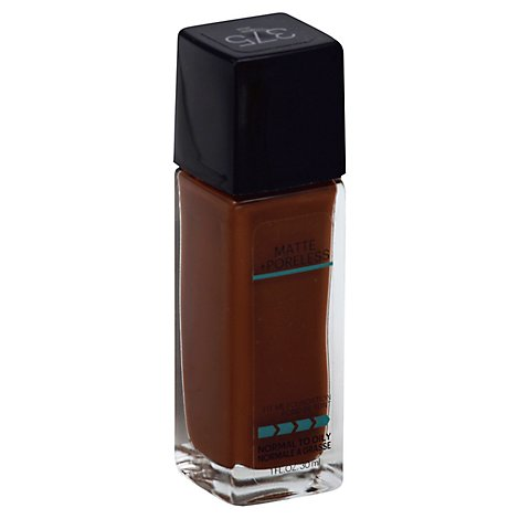Maybelline Fit Me! Foundation Matte +Poreless Normal to Oily Java 375 - 1 Fl. Oz.