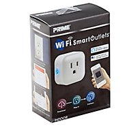 Prime Wifi Smart Outlets Indoor 1 Outlet - Each