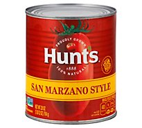Hunts San Marzano Style Whole Peeled Tomatoes Original - 28 Oz