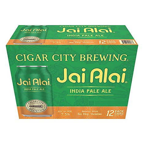 Cigar City Jai Alai - 12-12 Fl. Oz.