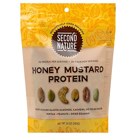 Second Nature Trail Mix Honey Mustard Protein - 10 Oz