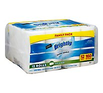 Signature Select Paper Towels Brightly Family Pack - 12 Roll
