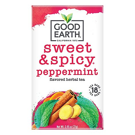 Good Earth Sweet & Spicy Peppermint 18ct - 18 Count