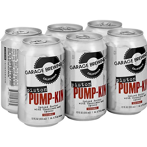 Garage Brewing Piston Pump-Kin Spiced Porter In Cans - 6-12 Oz