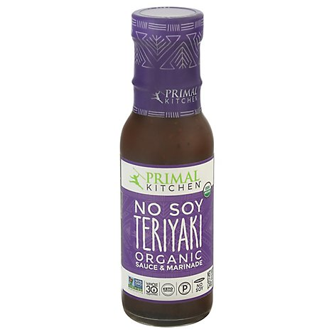Primal Kitchen Sauce Teriyaki No Soy - 8.5 Oz