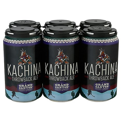 Grand Canyon Kachina Throwback Ale In Cans - 6-12 Fl. Oz.