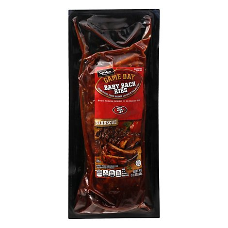 Signature Select Baby Back Ribs Barbeque 49ers - 24 Oz