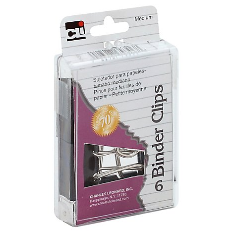 CLI Binder Clips Medium - 6 Count