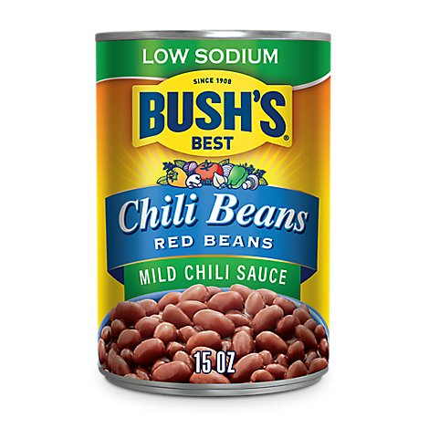 Bushs Beans Red In A Mild Chili Sauce - 15 Oz
