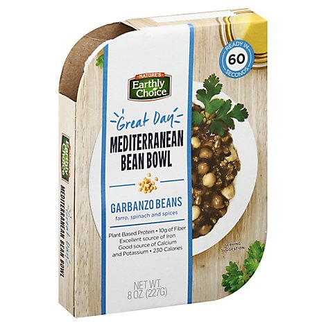 Natures Earthly Choice Bean Bowl Meditrn - 8 Oz