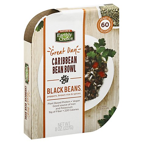 Natures Earthly Choice Bean Bowl Carbn - 8 Oz