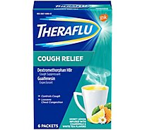 Theraflu Cough Relief Powder - 6 Count