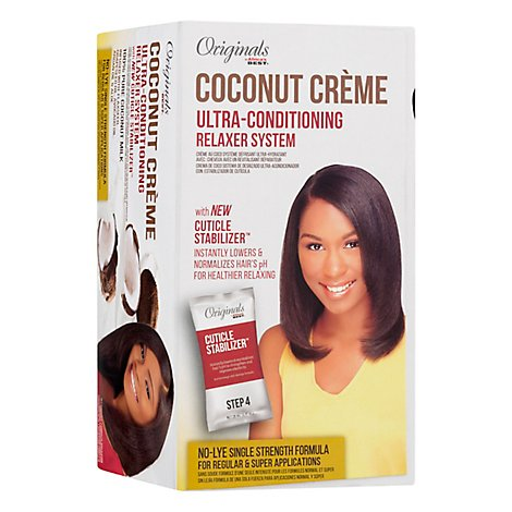 Africas Best Originals Coconut Creme Relaxer System Ultra Conditioning - Each