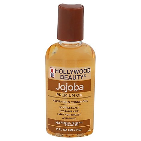 Hollywood Beauty Jojoba Oil - 2 Fl. Oz.