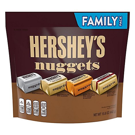 HERSHEYS Nuggets Assorted Family Pack - 15.6 Oz