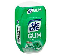 Tic Tac Spearmint Gum Sugar Free - 170 Count