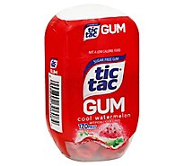 Tic Tac Gum Watermelon Sugar Free - 170 Count
