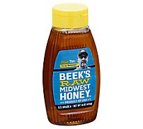 Beeks Raw & Unfiltered Midwest Honey Kingline - 16 Oz