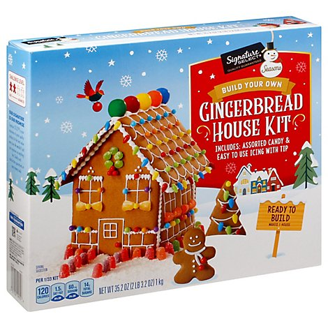 Signature Select Seasons Kit Gingerbread House - 35.2 Oz