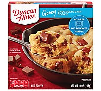 Duncan Hines Gooey Cookie Chocolate Chip - 10 Oz