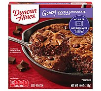 Duncan Hines Gooey Brownie Double Chocolate - 10 Oz