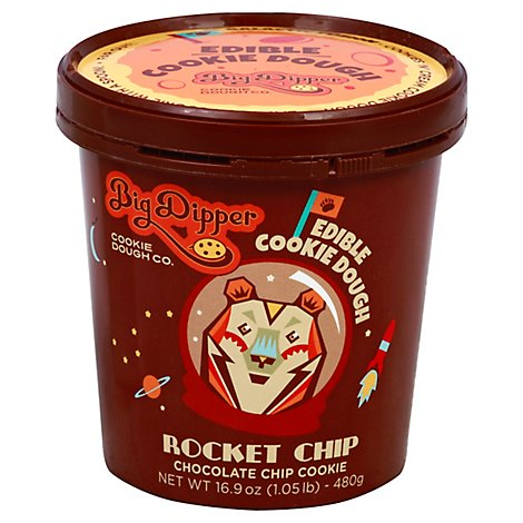 Big Dipper Cookie Dough Edible Rocket Chip Chocolate Chip Cookie - 16.9 Oz
