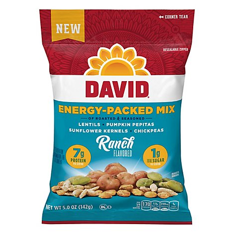 David Seed Mix Energy Packed Ranch Flavored - 5 Oz