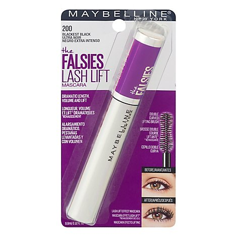 Falsies Lash Lift Mascara Wsh Blackest B - Each