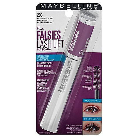 Falsies Lash Lift Mascara Wtp Brownish Black - Each