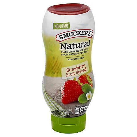Smuckers Natural Fruit Spread Strawberry - 19 Oz