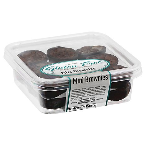 Frannys Gluten Free Mini Brownies - 9 Oz.