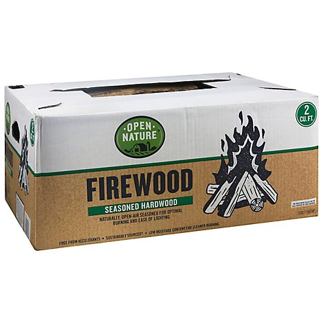 Open Nature Firewood Boxed - 2 Cu. Ft.