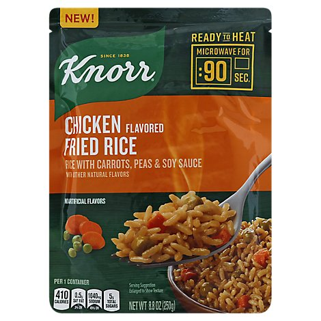 Knorr Rice Fried Ready To Heat Chicken Flavor - 8.8 Oz