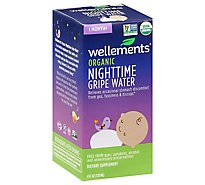 Wellements Organic Gripe Water Nighttime 1 Month+ - 4 Fl. Oz.