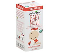 Wellements Baby Move Dietary Supplement Constipation 6 Months+ - 4 Fl. Oz.