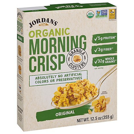 Jordans Cereal Morning Crisp Orig - 12.5 Oz