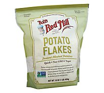 Bobs Red Mill Potato Flakes Vegan Instant Mashed Potatoes - 16 Oz
