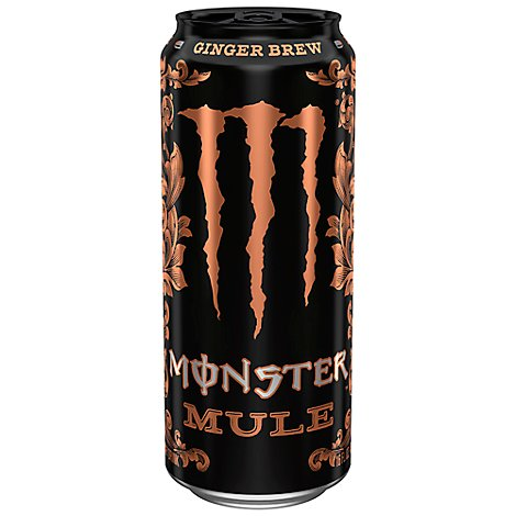 Monster Energy Mule Energy Drink Ginger Brew - 16 Fl. Oz.