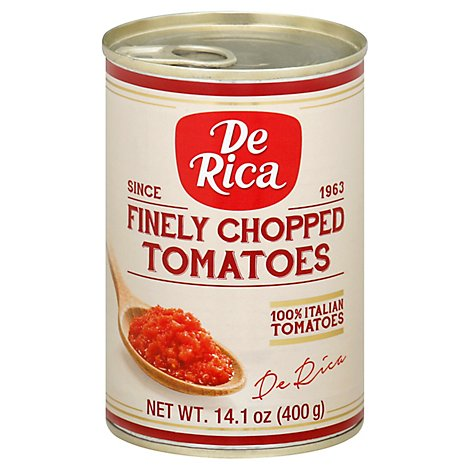 Finely Chopped Tomatoes - Each