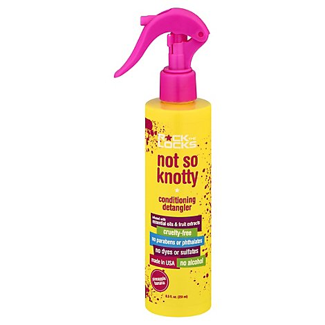 Rock The Locks Not So Knotty Conditioning Detangler Pineapple Banana - 8.5 Fl. Oz.