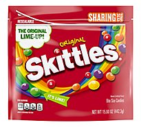 Skittles Chewy Candy Original Sharing Size Bag - 15.6 Oz