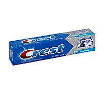Crest Toothpaste Fluoride Anticavity Baking Soda & Peroxide Whitening Fresh Mint - 5.7 Oz