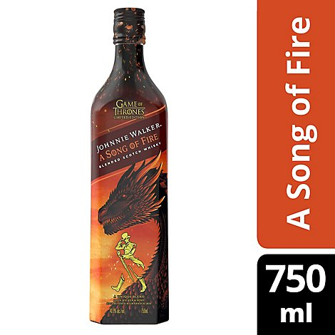 Johnnie Walker Song Of Fire - 750 Ml