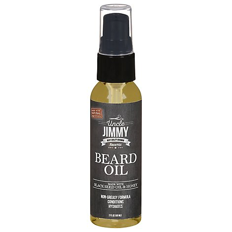 Uncle Jimmy Beard Oil - 2 Fl. Oz.