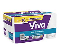 Viva Paper Towel Multi Surface Cloth Choose A Sheet Big Rolls 2 Ply Sheets - 12 Roll