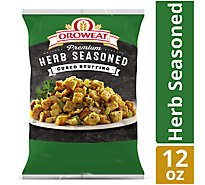 Oroweat Premium Cubed Stuffing Herb Seasoned - 12 Oz