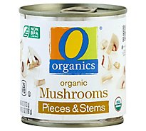 O Organics Mushrooms Pieces & Stems - 4 Oz