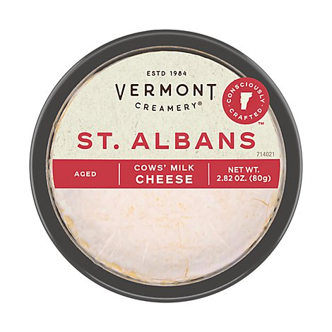 Vermont Creamery St. Albans Cows Milk Cheese - 2.8 Oz